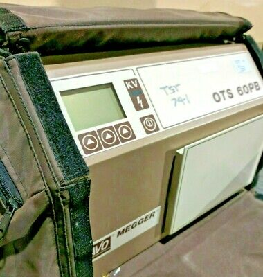 Avo Megger Ots 60pb Automatic Portable Oil Test Set