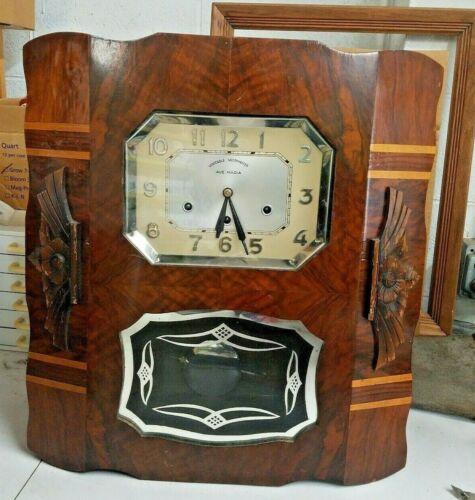 Vintage Veritable Westminster Chime Clock Ave Maria art deco
