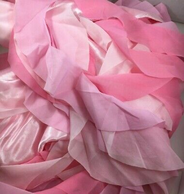 Ruffled Table Skirt (Leegleri 6 Ft PINK Curly Willow Table Skirt Tulle Ruffle conforms to table)