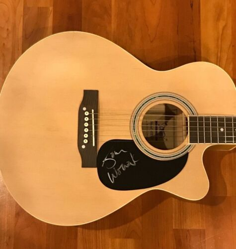 * JOHN WOZNIAK * signed acoustic guitar * MARCY PLAYGROUND * SEX & CANDY * 1