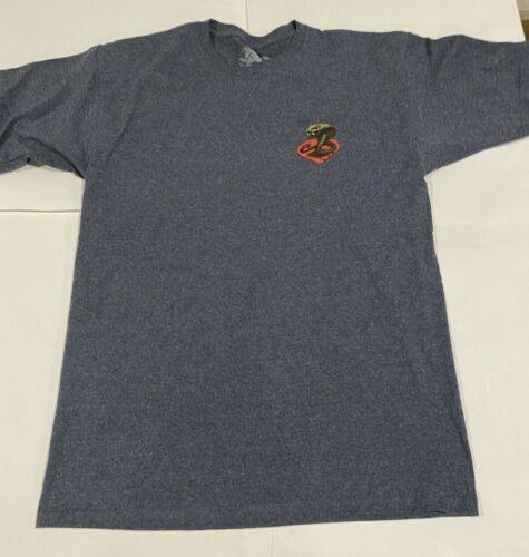 Powell Peralta T Shirt Cobra Heather Navy Short Sleeve Men's Large