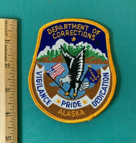 Alaska Department of Corrections Patch