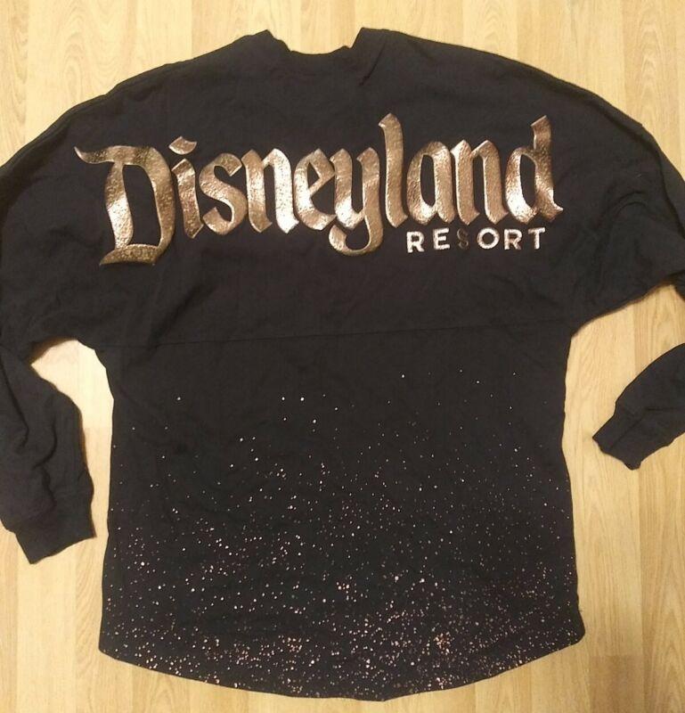 Disneyland Resort Disney Parks Spirit Jersey Shirt Black Adult Size Medium Rare