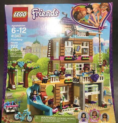 Lego Friends Friendship House (41340) Complete, FREE SHIPPING