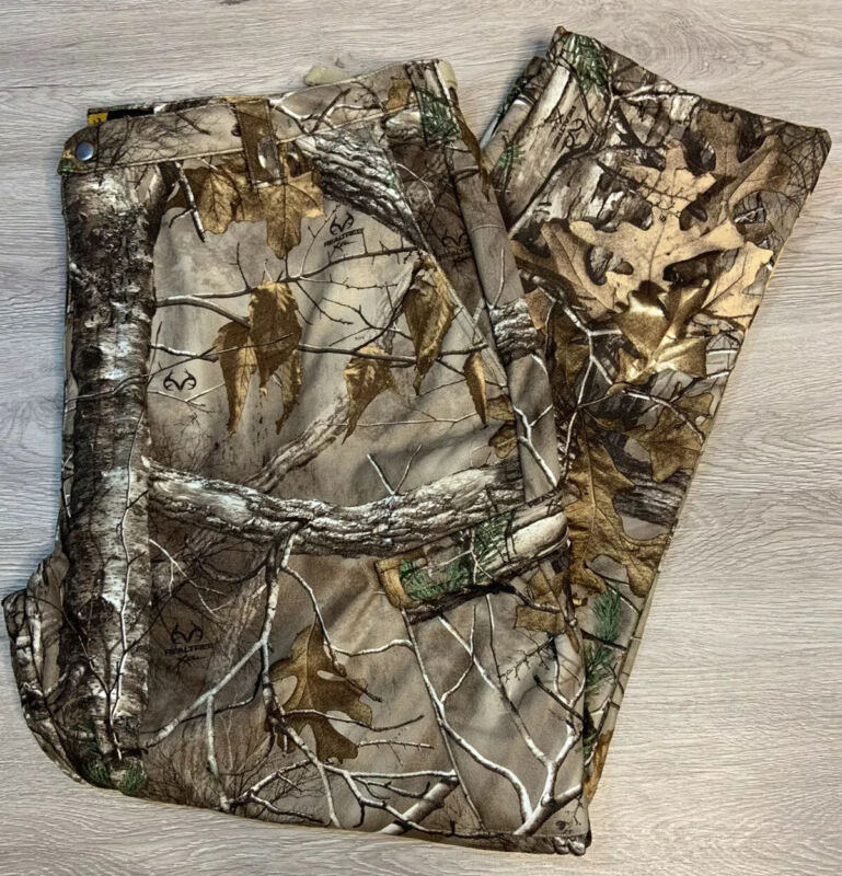 Browning Wasatch Soft Shell Pants Realtree Camouflage Pants 3XL New with Tags