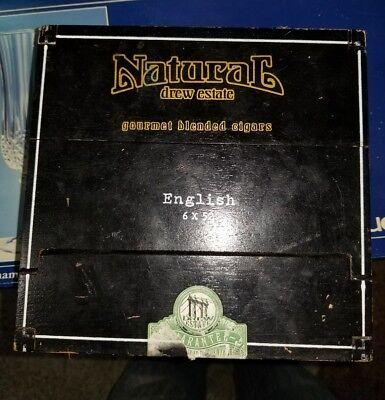Natural Dirt Torpedo (NATURAL DREW ESTATE DIRT TORPEDO CIGAR BOX NICARAGUA 2I )