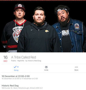 IM LOOKING FOR 2 TICKETS TO A TRIBE CALLED RED!