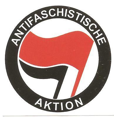 50x Antifa Aufkleber stickers Punk Ska Oi HC GNWP AFA Anti Nazis Gegen Nazis ARA