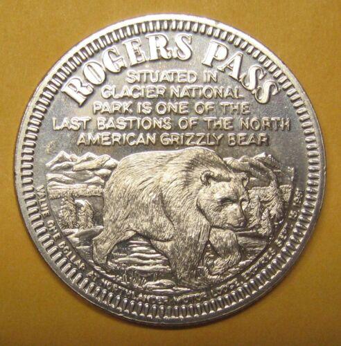 1981 Canada Rogers Pass Trade Dollar