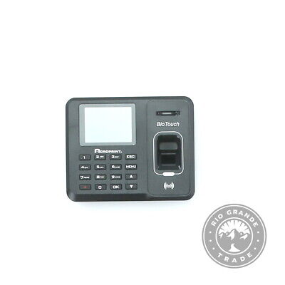 Used Acroprint 01-0276-000 Biotouch Auto Biometric Fingerprint Black Time Clock