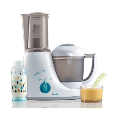 NIB Beaba Babycook Original Plus Baby Food Maker System Steam Cooker Blender +