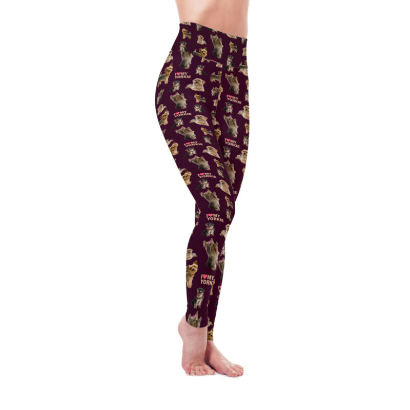 Dog Mom Series - Yorkie (Yorkshire Terrier) Leggings