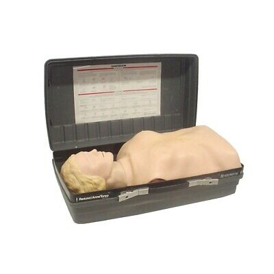 Laerdal Resusci Anne Adult Cpr Medical Training Manikin Torso Wcase
