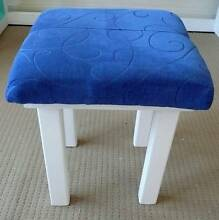 Stool, Padded Cloth Seat/Solid Pine Gympie Gympie Area Preview