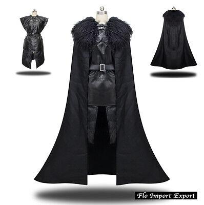 Thron Spade Karnevalkleid Herren ähnlich Jon Snow Cosplay Kostüm - (Jon Snow Kostüm)
