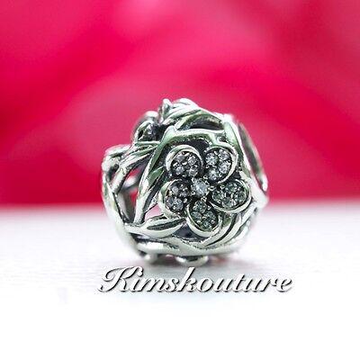 Authentic Pandora 925 Sterling Silver Charm Mystic Floral 791419CZ