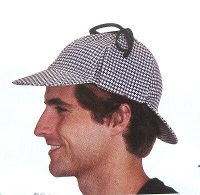 Sherlock Homes Costume (Sherlock Homes Detective Cotton Adult Cap Hat Costume)
