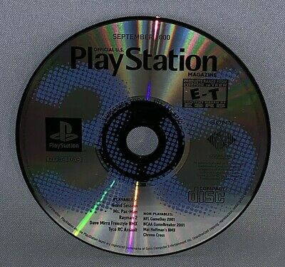 Official Playstation Magazine September 2000 Demo Disc Only