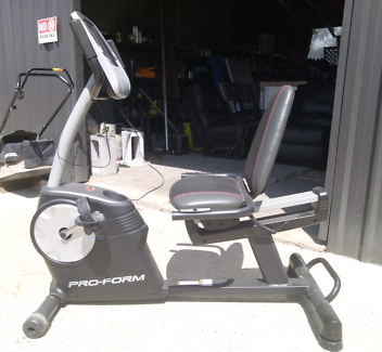 Pro form recumbent exercise bike