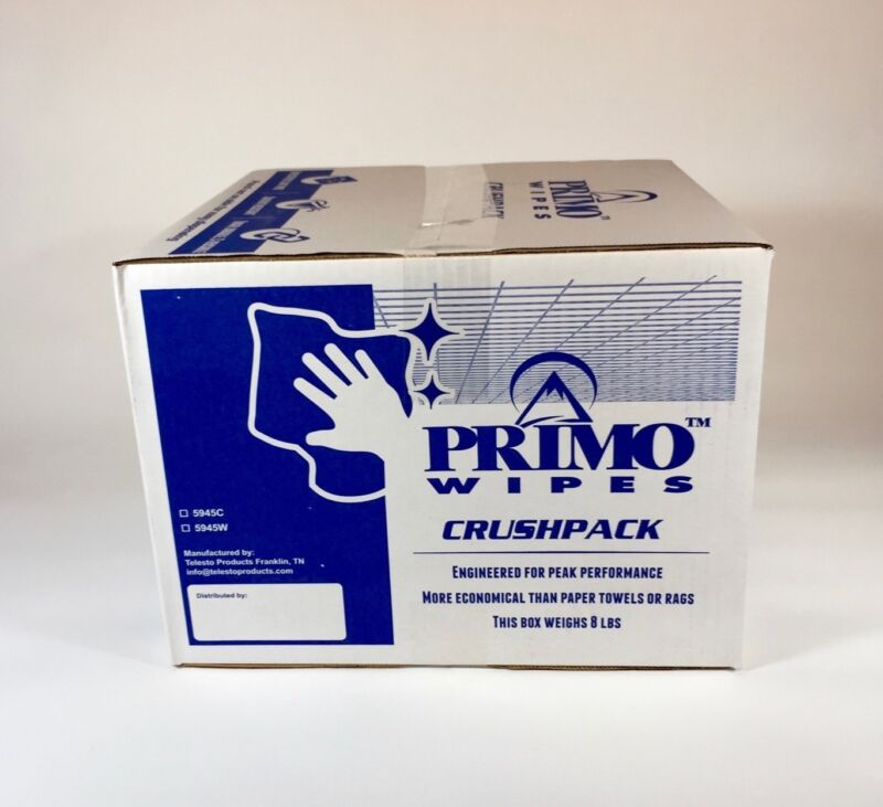 Primo™ Wipes - High performance lint free solvent resistant wipes - White