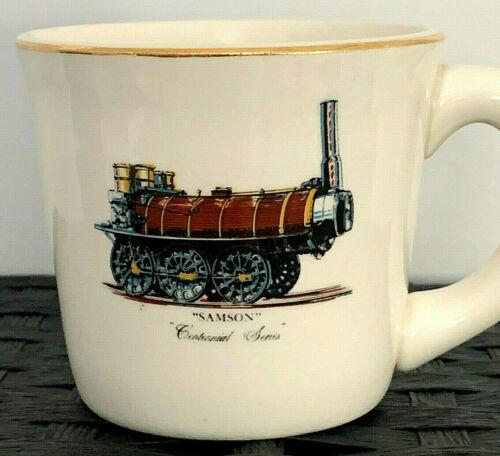 VTG Railroad Coffee Mug Coffee Cup Samson Steam Locomotive Centennial Series