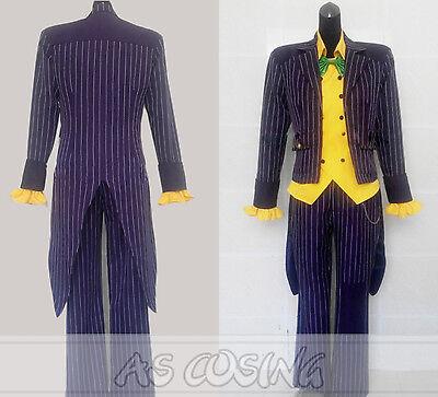 Batman Joker Woman Costume (Batman The Dark Knight Joker Costume Halloween Complete Costume For)