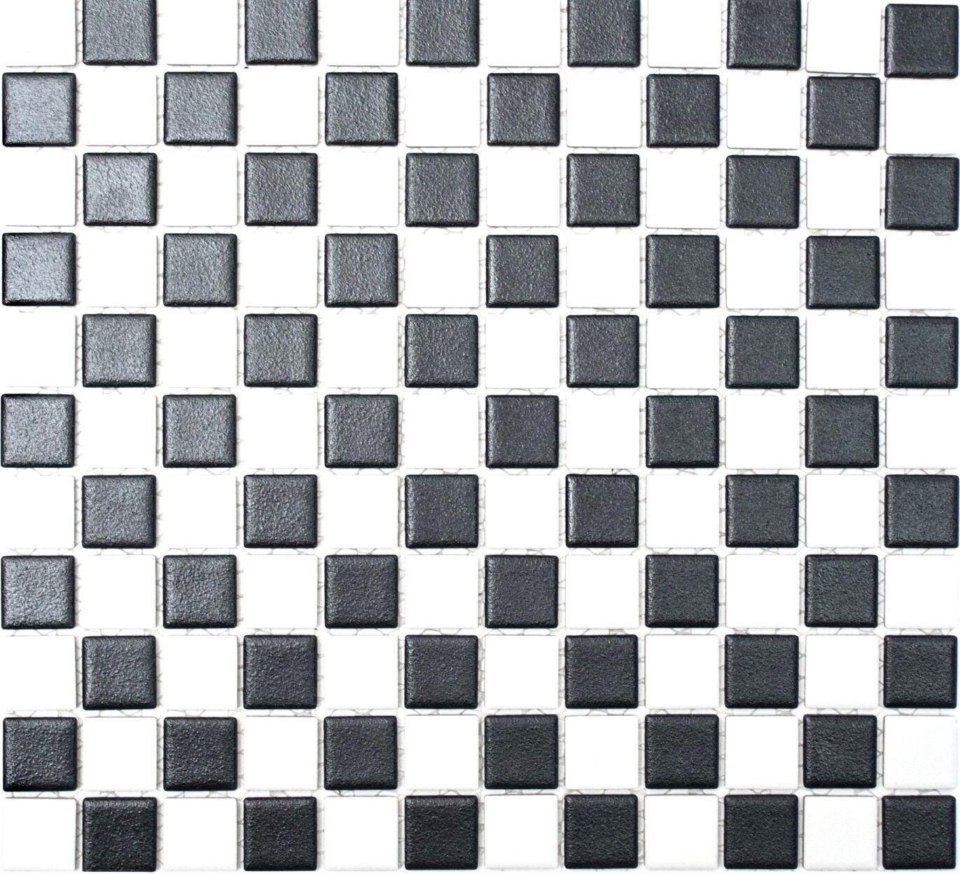 Mosaik schwarz weiss kuche - Kuchenruckwand auf tapete kleben ...