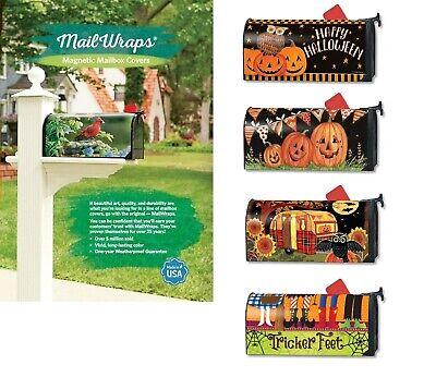 Studio M H8 Fall Halloween Mailbox Cover MailWrap - Choose Design](Halloween Mailbox Covers)