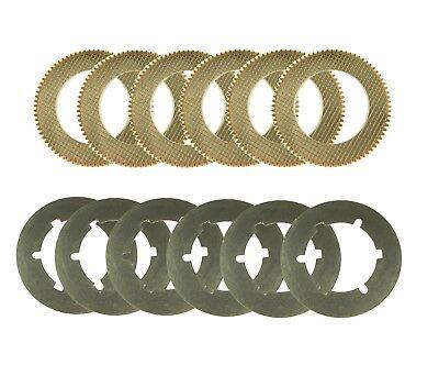 Reverser Friction Steel Clutch Kit Fits John Deere 350 350b 350c 350d 1010