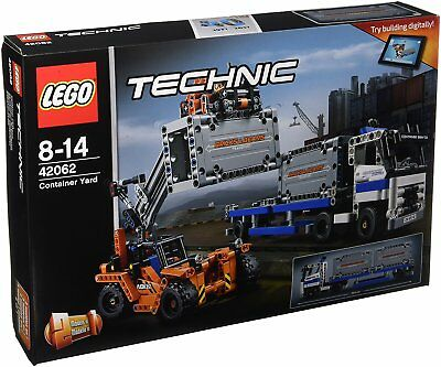 Toy Building Set LEGO Container YardTow Technic Truck Container Loader Trailer