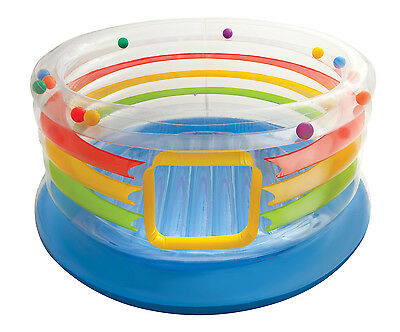 Intex Inflatable Jump-O-Lene Transparent Ring Bounce For Kids 3-6  | 48264EP