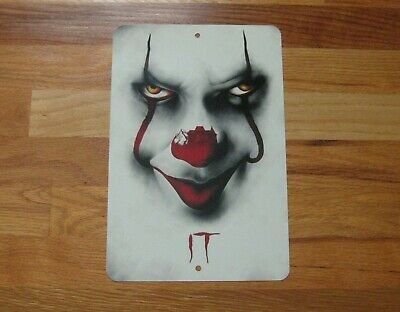 Cool Halloween Movie Characters (HALLOWEEN HORROR Movie Characters Custom SIGN-PENNYWISE