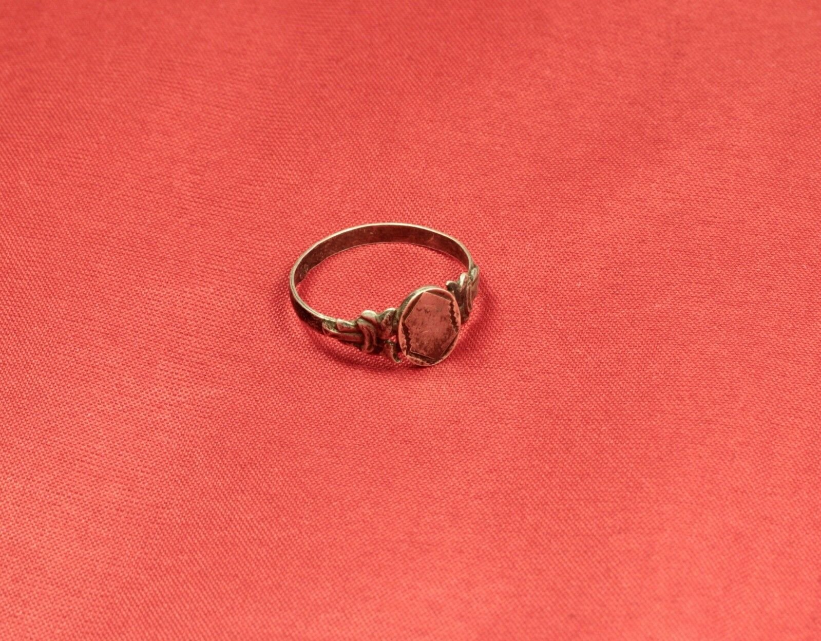 Nice Silver Ring From the 19. Century
