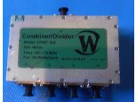 Werlatone D6671 6-Way Combiner//Divider 750W 150-175MHz