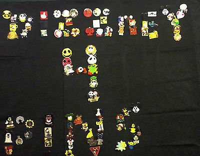 DISNEY TRADING PIN 50 LOT NO DUPLICATES HIDDEN MICKEY LIMITED EDITION FREE SHIP on Rummage
