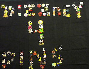 DISNEY TRADING PIN 50 LOT NO DUPLICATES HIDDEN MICKEY LIMITED EDITION FREE SHIP