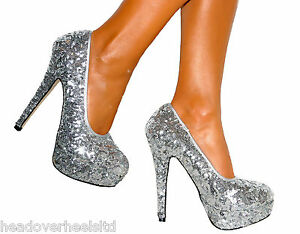High Heels For Prom Silver