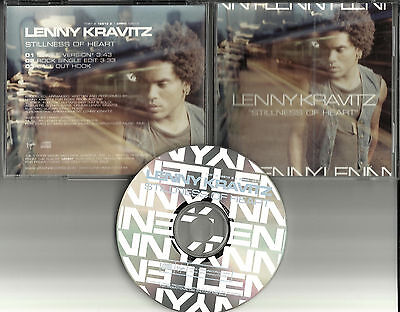 Lenny Kravitz Stillness Of Heart Rock Edit   Single Version Promo Dj Cd Single