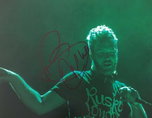 Rusko Electronic Dubstep DJ Signed 8x10 Photo Autographed COA E1