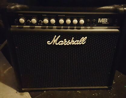 Marshall 30w bass practice amp Bedford Bayswater Area Preview
