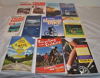Lot 11 Cycle Bicycle Touring Tours Children Europe Canada Medicine Nova Scotia