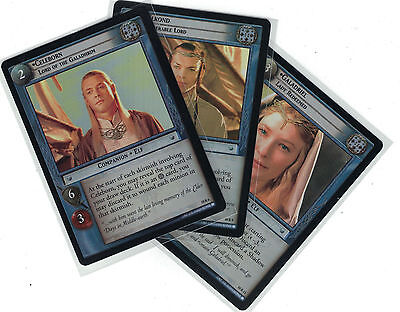 Lord of the Rings CCG Mount Doom FOIL: 3x Rare Cards   freie Auswahl    Lot