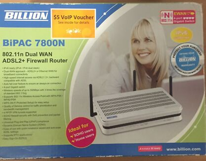 Billion adsl2 modem router  Kiara Swan Area Preview