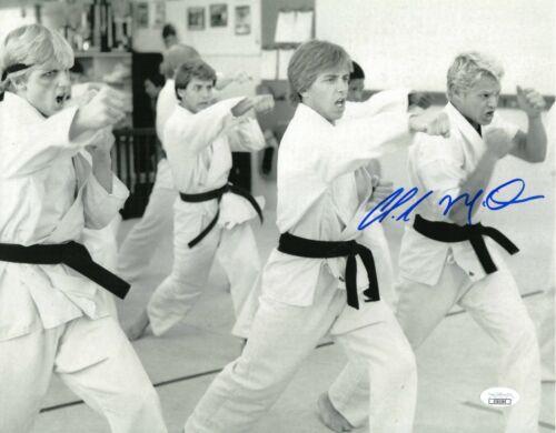 "Chad McQueen Autograph Signed 11x14 Photo - Karate Kid ""Dutch"" (JSA COA)"