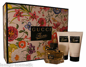 GUCCI Flora Eau de Parfum edp 50ml. & Perfumed Body Lotion 2x50ml.