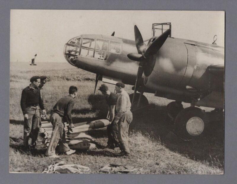 MARTIN 167A-3 MARYLAND ARMEE DE L'AIR ORIGINAL VINTAGE 1940 WW2 PRESS PHOTO