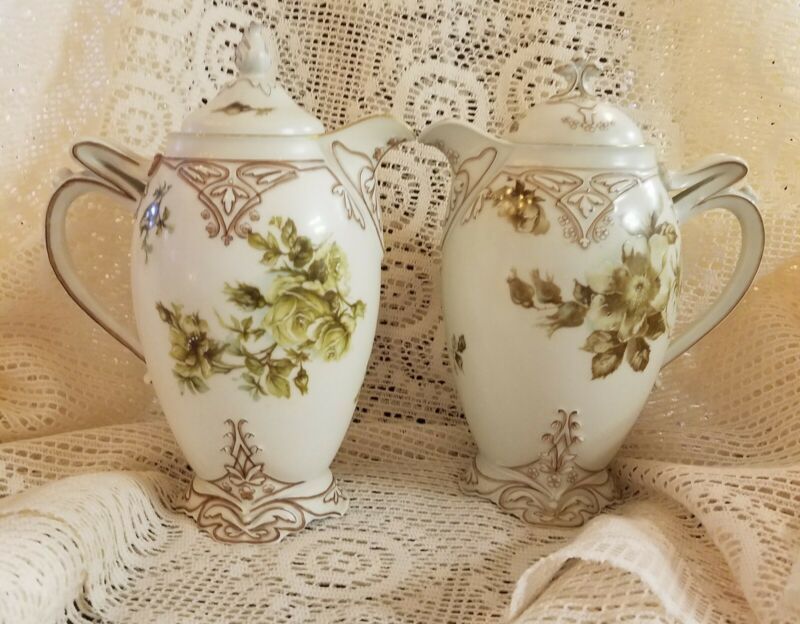 Hermann Ohme Old Ivory Chocolate Pot