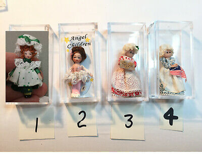 Betsy Ross Children (Choice Ethel Hicks Angel Children Miniature Dolls + others Ballerina, Betsy)