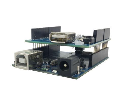 Arduino USB Host Shield Adapter Breakout ADK UNO MEGA w/ UNO Compatible Board
