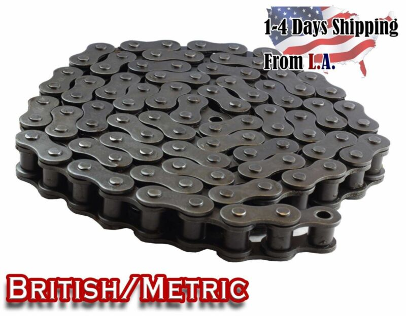 #06B Metric Standard Roller Chain 10 Feet with 1 Connecting Link